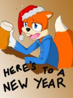 Welcome 2012! by CKR-the-cat