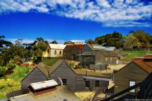 Looking Over Sovereign Hill by djzontheball