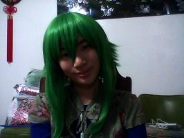 My new Gumi Wig by xMMDPandux