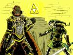 Battle for the Triforce by KrautSarge