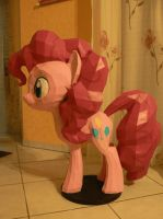 Pinkie Pie Papercraft - 360 degree gif by Znegil