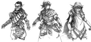 TES Renewal Mages Guild Outfits by Talfox