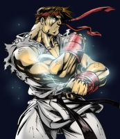 Ryu by Leandrotitiu Colored by ToneyHadnotJr