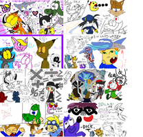 We all live a iScribble World by EvilSonic2