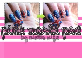 Pink World PSD by NiallsWife