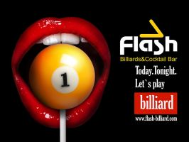 Flash billiard advert 01 by SOOO