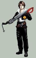 Gamestation - Squall Leonheart by sate-bang-somad