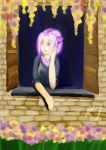 Violette Looking at the World Outside by FeaelSilmarien