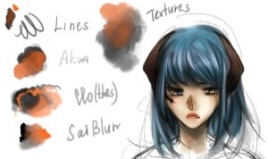 Colouring brushes - clip studio paint by AuraNed