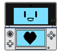 Pixel 3DS by NintendoHeart