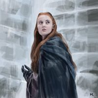 Sansa by blueiguan