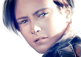 John Connor. Wait.... LEVI?!! by Yuuika-Luika