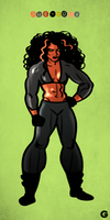Sketch #15 (She-Hulk) by G-for-Galdelico