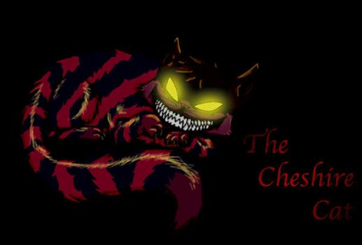 the Cheshire Cat by Dead-Red-Love