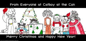 Merry Christmas 2010 by Catboy-Trades