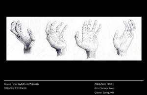 Study of Hands by Vinnie14