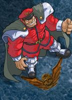 Street Fighter: M. Bison by Marvin000