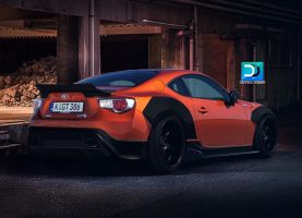 Toyota Gt 86 by DennoxDesign