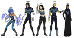 X-Men: Blue Squad by cspencey