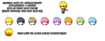 Custom Hair for Maplestory Characters 1 by Grimmbound