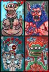 4x6 Cards part 5 by Dr-Twistid