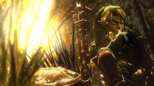 Link's stupid flute thingy ::Nintendo:: by guywiththesuitcase