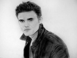 Paul Wesley by NatasaTW