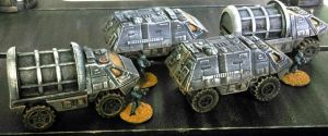 15mm Planetary Marines APCs by Spielorjh