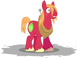 Wet Mane Big Macintosh by anarchemitis
