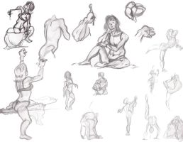Figures, female by Animator-who-Draws