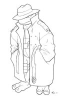 Raph in a trench coat by danimation2001