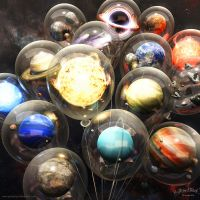Party Planets by priteeboy