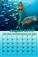 August 2013 Calander by Chibifangirl01