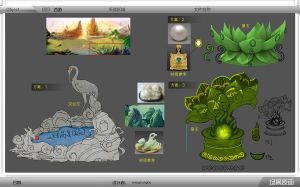 concept for a web game by mozhiyaoe