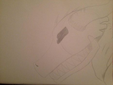 PapyrusDragon (unfinished sketch~ Undertale) by TheLOLChicken