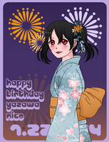Happy Birthday Nico-chan! by skelly-jelly