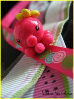 Sunshine Pink Octopus by cupcakecutiefriends