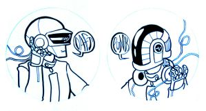 Daft Headphone Designs by Matuska