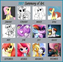 DShou's 2012 Summary of Art by DShou