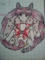 Chibiusas ink.- by Aino-Fred