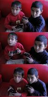 Street Kids Play Playstation For First Time by dincturk