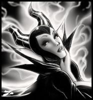 Maleficent by Zuleta