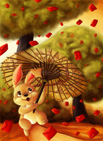 Lucky Rain by parochena