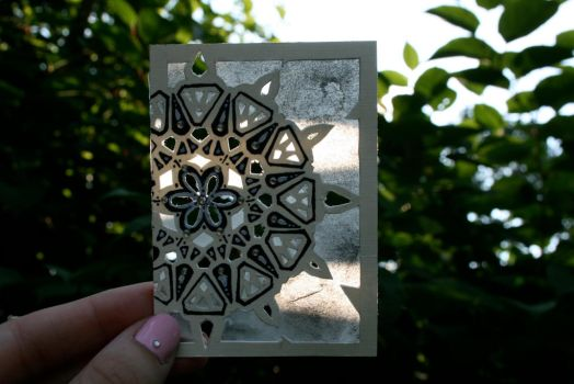 Kaleidoscope ACEO (currently for sale) by kaliwallace