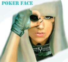 Poker Face of GaGa by dodox90