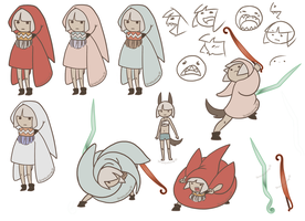 Animation character design by Cloudgateau