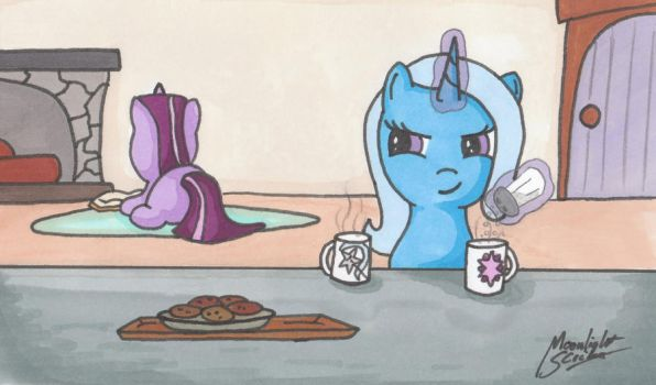 You Said Two Sugars, Right? by MoonlightScribe
