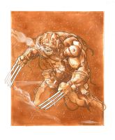 Weapon X - Con Sketch by Iconograph