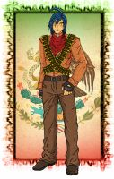 hetalia Mexico full body color by chaos-dark-lord