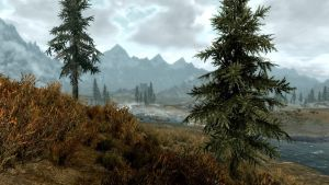 Landscape of Whiterun 2 by Marina17